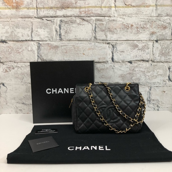 1b55faf6f0d1 CHANEL Handbags - CHANEL Petite PTT Timeless Quilted Caviar HTF Bag